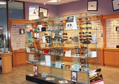 Glasses Display - Bramalea Optometric Clinic