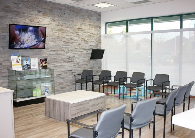 Reception Area - Bramalea Optometric Clinic